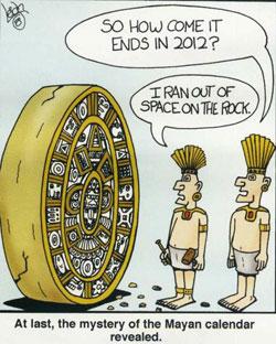 le mystère du calendrier maya révélé. 2012-maya