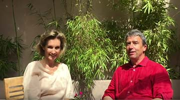 Claire Molinard et Philippe Joannis
